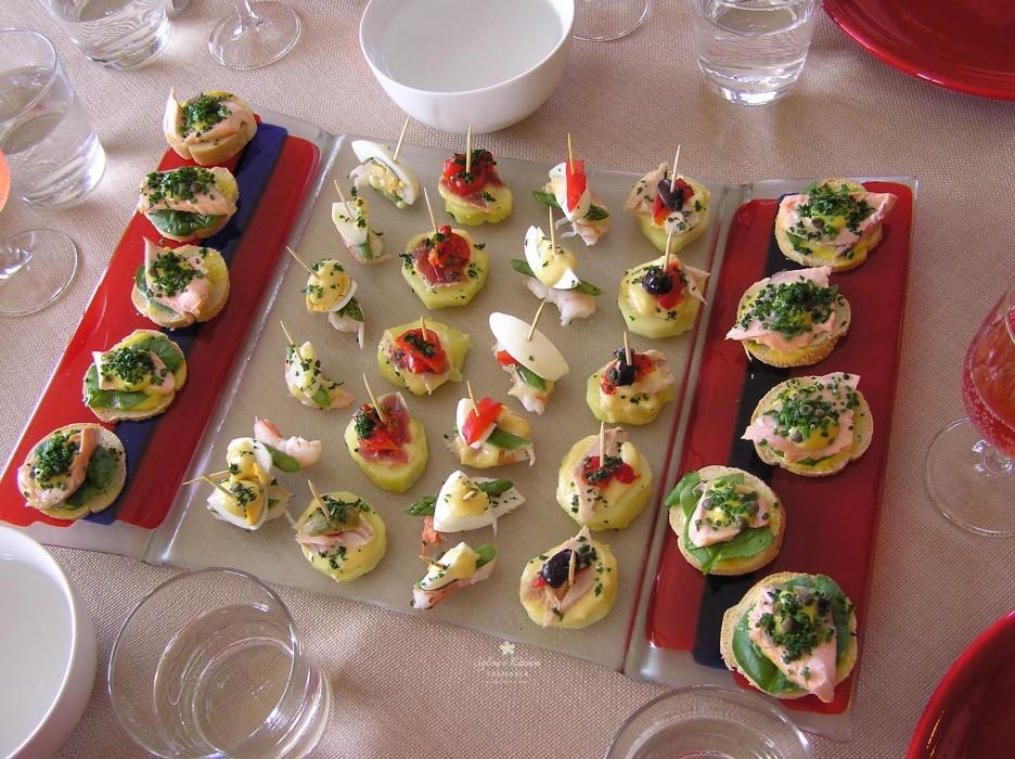 Spanish Tapa Taster Platter - Delicious!