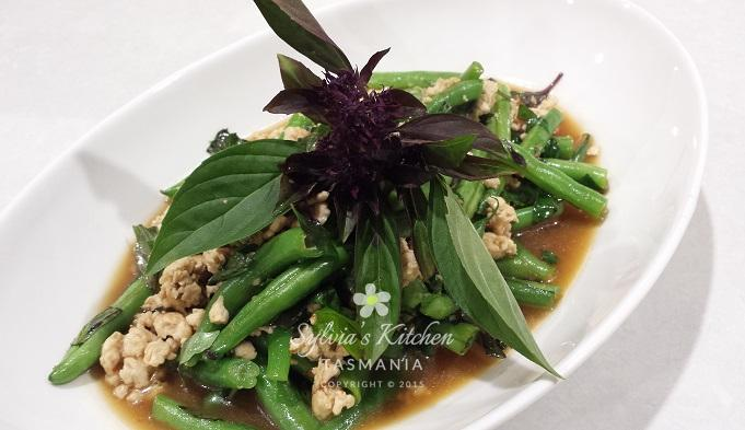 Fragrant Thai Chicken Dish