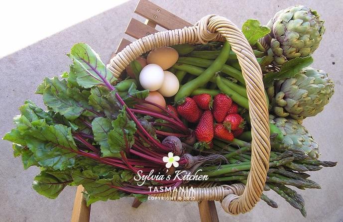 Spring Basket Produce