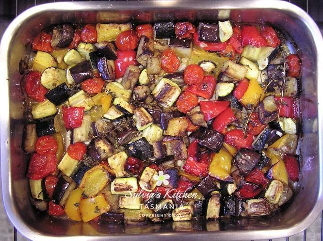 Medley of Roasted Summer Vegetables