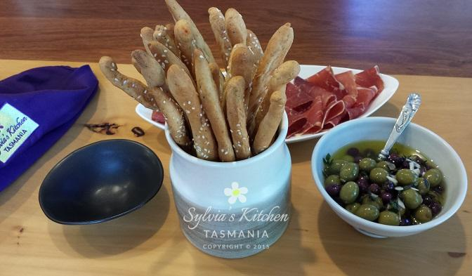 Sylvia's Grissini Italian Bread Sticks