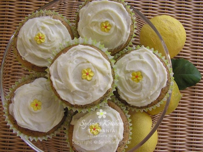 Sylvia's Lemon and Poppy Seed Muffins