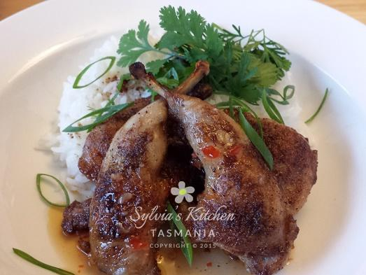 Sylvia's Chinese Spiced Quail