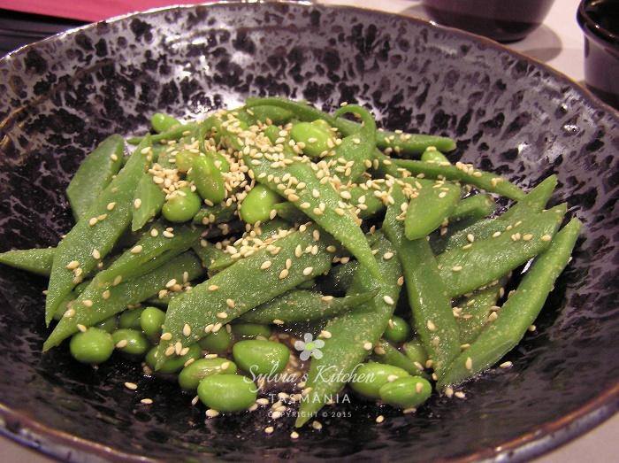 Sylvia's Green Beans with Sesame Dressing
