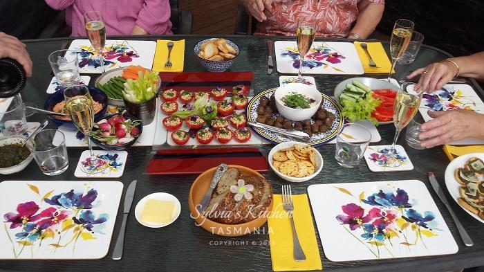 Easy Entertaining Menu - Sylvia's Kitchen Tas